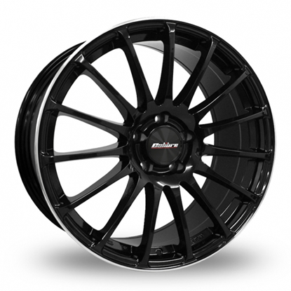 "19"" Calibre Rapide Gloss Black Alloy Wheels"