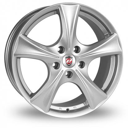 """18"""" Calibre Trek Silver Alloy Wheels"""