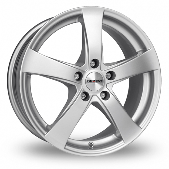 """14"""" Dezent RE Silver Alloy Wheels"""