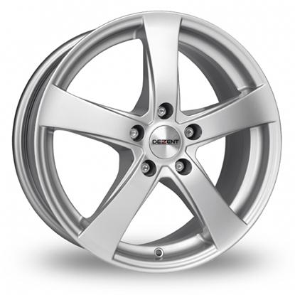 """17"""" Dezent RE Silver Alloy Wheels"""