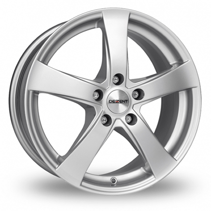 "18"" Dezent RE Silver Alloy Wheels"