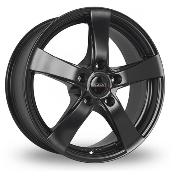 "15"" Dezent RE Black Alloy Wheels"