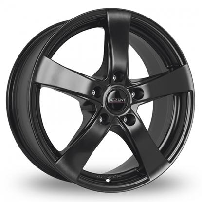 "17"" Dezent RE Black Alloy Wheels"