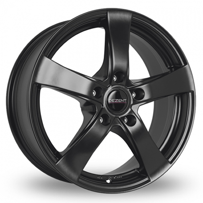 "18"" Dezent RE Black Alloy Wheels"