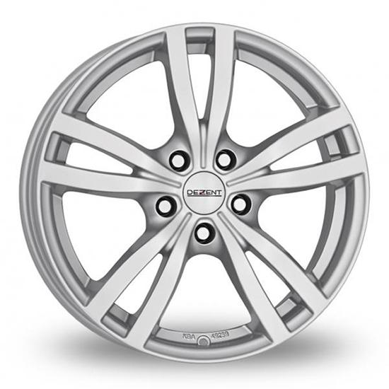 """17"""" Dezent TC Silver Alloy Wheels"""