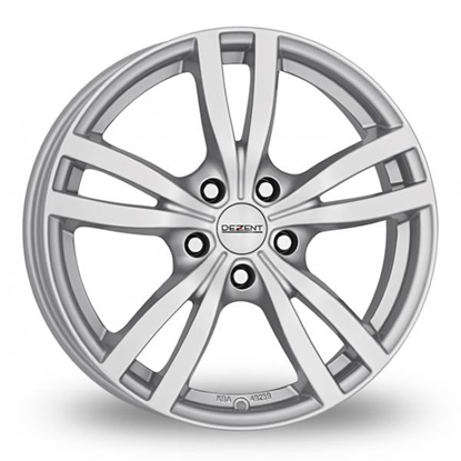 "15"" Dezent TC Silver Alloy Wheels"