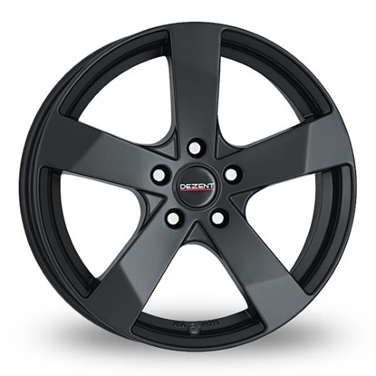 "18"" Dezent TD Black Alloy Wheels"