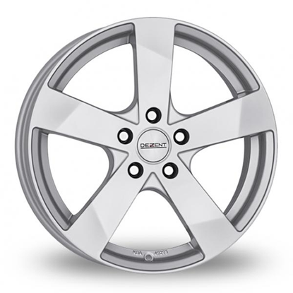 "14"" Dezent TD Silver Alloy Wheels"