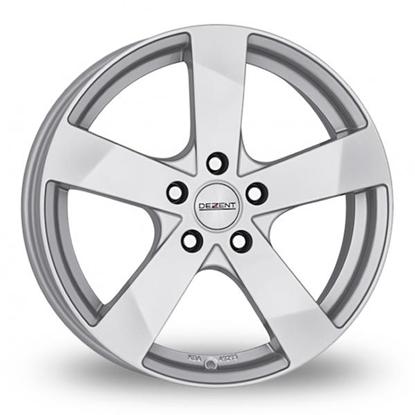 "17"" Dezent TD Silver Alloy Wheels"