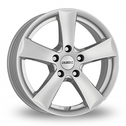 "16"" Dezent TX Silver Alloy Wheels"