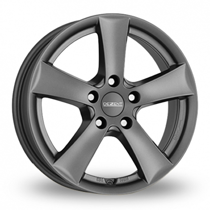"17"" Dezent TX Graphite Alloy Wheels"