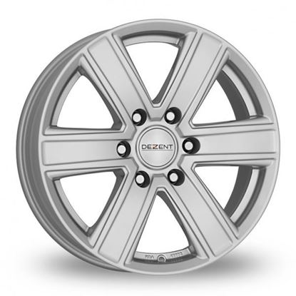 "16"" Dezent TJ Silver Alloy Wheels"