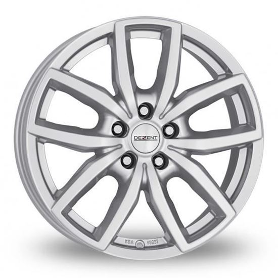 "17"" Dezent TE Silver Alloy Wheels"