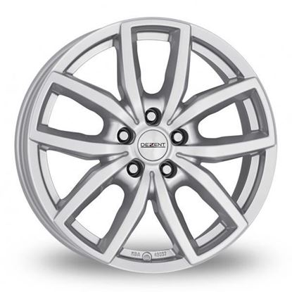"18"" Dezent TE Silver Alloy Wheels"