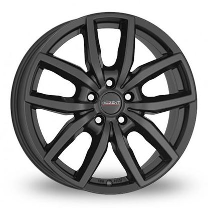 "17"" Dezent TE Matt Black Alloy Wheels"