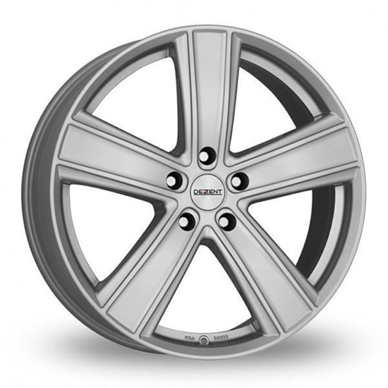 "20"" Dezent TH Silver Alloy Wheels"