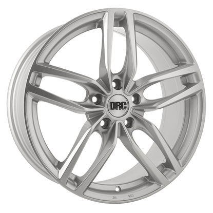 "18"" DRC DRS Silver Alloy Wheels"