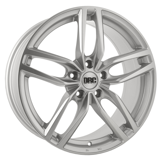 "17"" DRC DRS Silver Alloy Wheels"