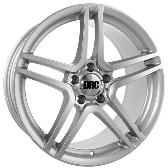 """18"""" DRC DMG Silver Face Alloy Wheels"""