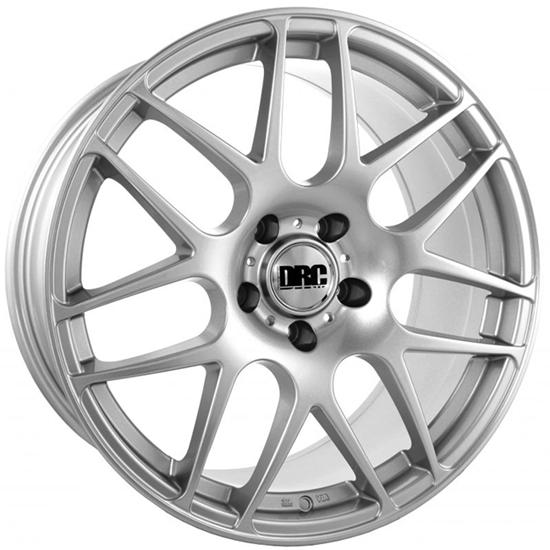 "18"" DRC DRM Silver Alloy Wheels"