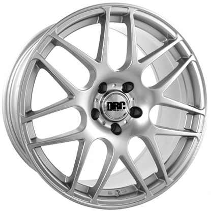 "19"" DRC DRM Silver Alloy Wheels"