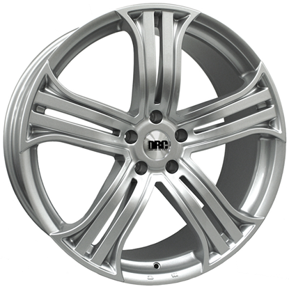 "22"" DRC DRR Silver Alloy Wheels"