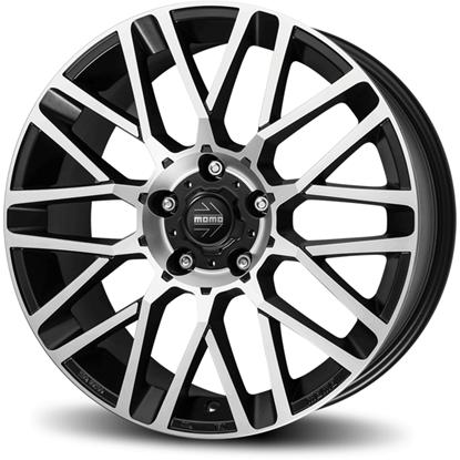 "15"" Momo Revenge EVO Matte Anthracite Diamond Cut Alloy Wheels"