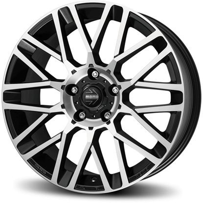 "17"" Momo Revenge EVO Matte Anthracite Diamond Cut Alloy Wheels"