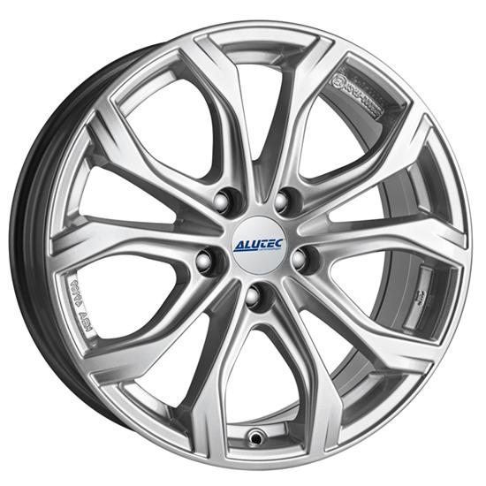"16"" Alutec W10 Polar Silver Alloy Wheels"