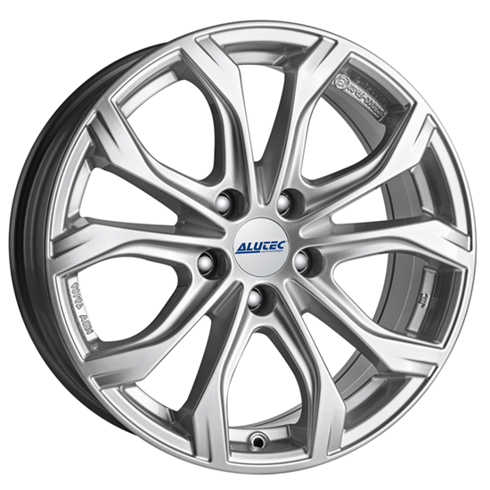 "17"" Alutec W10 Polar Silver Alloy Wheels"