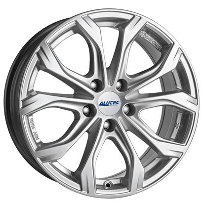 "20"" Alutec W10X Polar Silver Alloy Wheels"