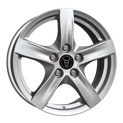 "16"" Wolfrace Arktis Polar Silver Alloy Wheels"