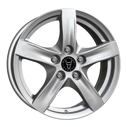 "17"" Wolfrace Arktis Polar Silver Alloy Wheels"