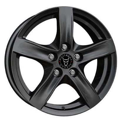 "15"" Wolfrace Arktis Gloss Black Alloy Wheels"