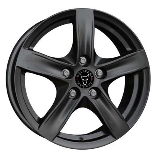 "15"" Wolfrace Arktis Gloss Black Alloy Wheels"