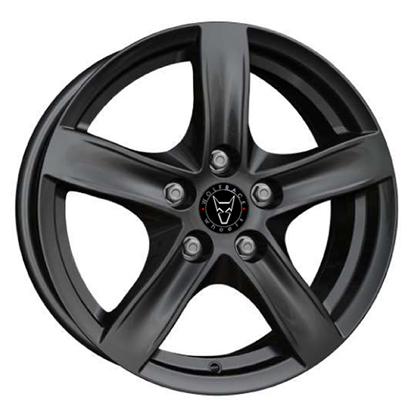 "16"" Wolfrace Arktis Gloss Black Alloy Wheels"