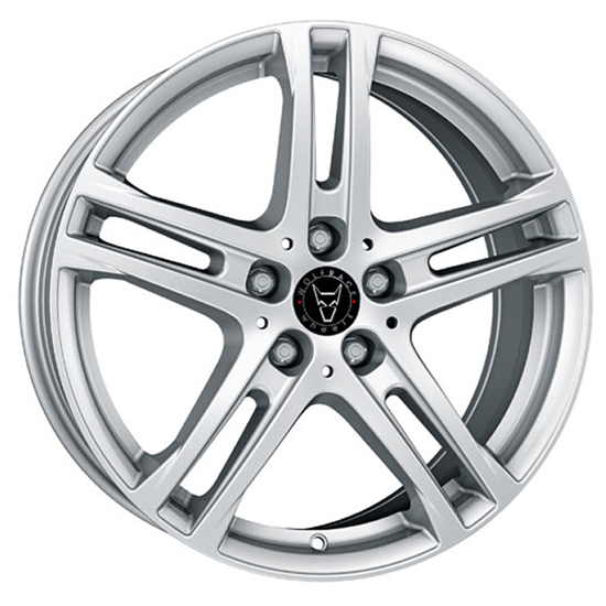 "16"" Wolfrace Bavaro Polar Silver Alloy Wheels"