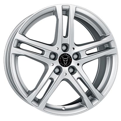 "17"" Wolfrace Bavaro Polar Silver Alloy Wheels"
