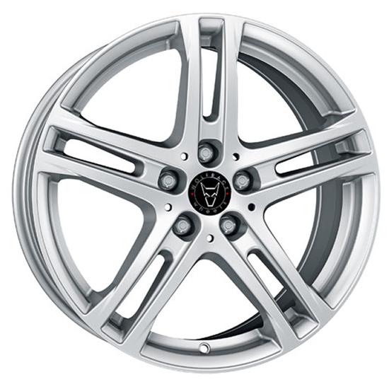"18"" Wolfrace Bavaro Polar Silver Alloy Wheels"