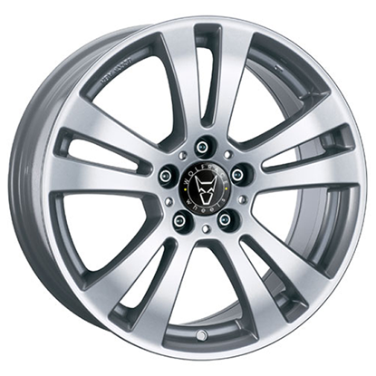 "16"" Wolfrace DH Polar Silver Alloy Wheels"