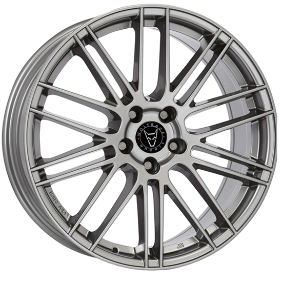 "20"" Wolfrace KiboX Gun Metal Alloy Wheels"