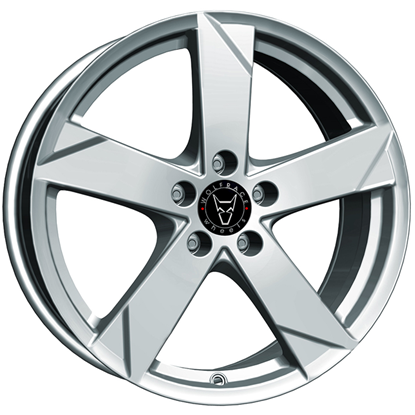 "17"" Wolfrace Kodiak Polar Silver Alloy Wheels"