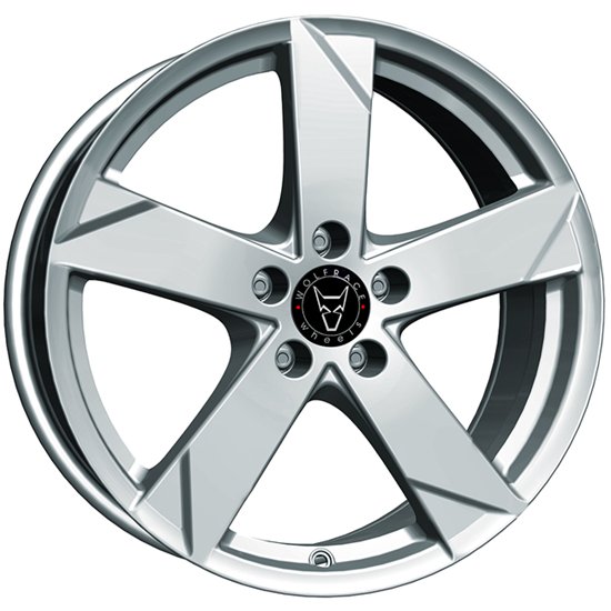 "17"" Wolfrace Kodiak Polar Silver Alloy Wheels"