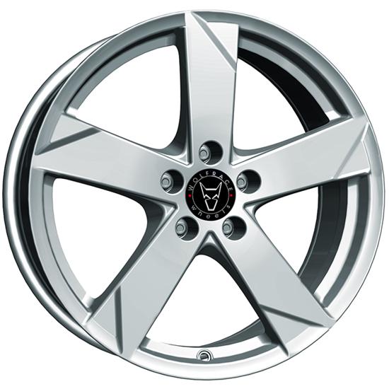 "19"" Wolfrace Kodiak Polar Silver Alloy Wheels"