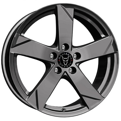 "14"" Wolfrace Kodiak Graphite Alloy Wheels"