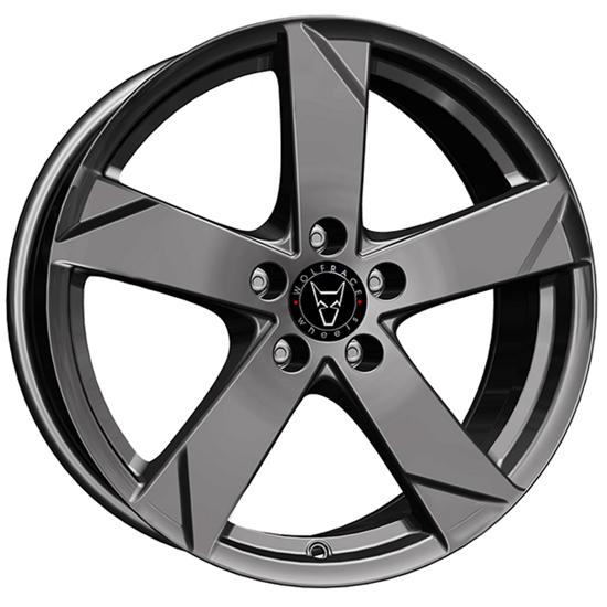 "15"" Wolfrace Kodiak Graphite Alloy Wheels"