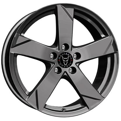 "17"" Wolfrace Kodiak Graphite Alloy Wheels"