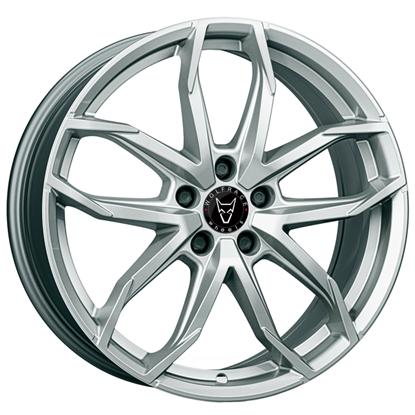 "17"" Wolfrace Lucca Polar Silver Alloy Wheels"