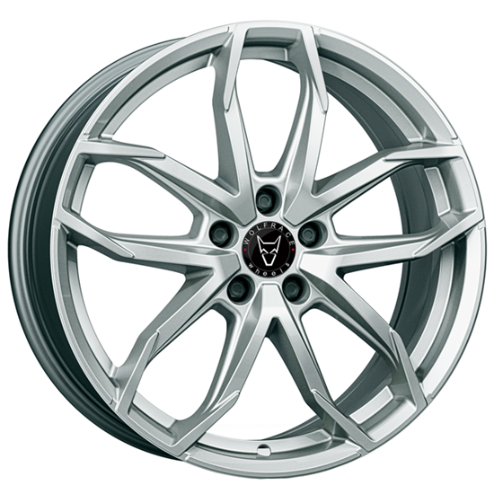 "17"" Wolfrace Lucca Polar Silver Alloy Wheels"