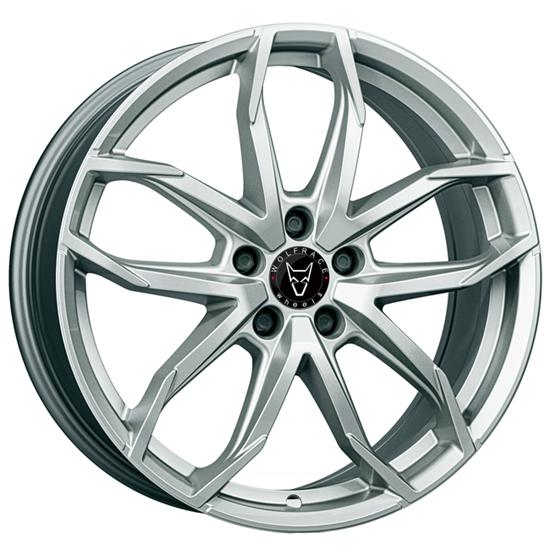 "18"" Wolfrace Lucca Polar Silver Alloy Wheels"